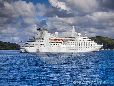 Small Cruise Ship Stock Photo  Image 51206294