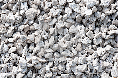 Small crushed rocks