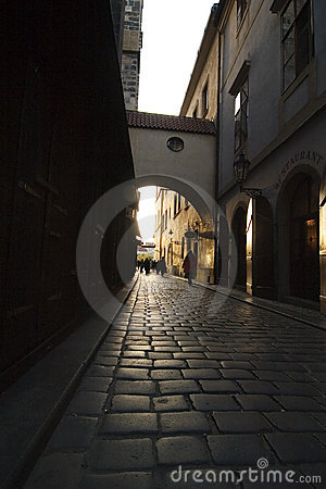 Small Dark Street
