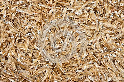 Small dried fishes