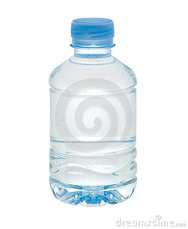 Small drinking water bottle