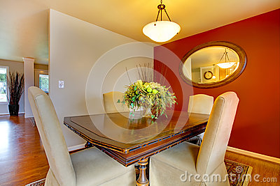 Small elegant dining corner area stock photo image 36899600 for Small dining area solutions