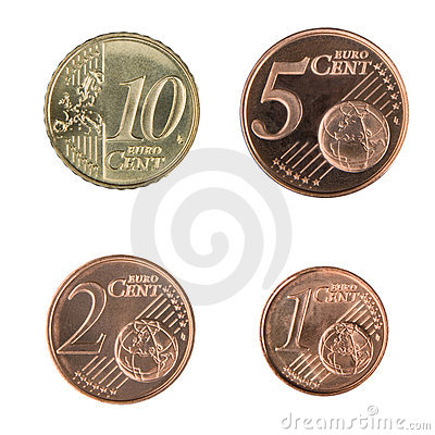 Free Small Euro Coins Stock Photo - 5281450