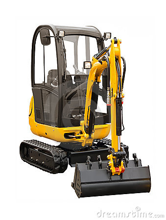 Free Small Excavator Stock Photos - 21550083