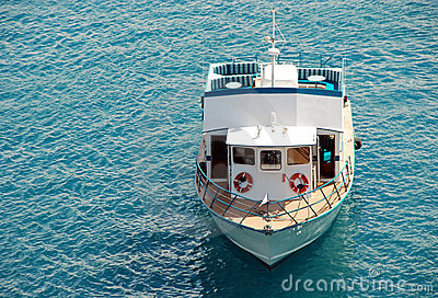 Small excursion motor boat