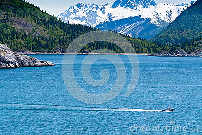 Small Fishing Boat in Alaska