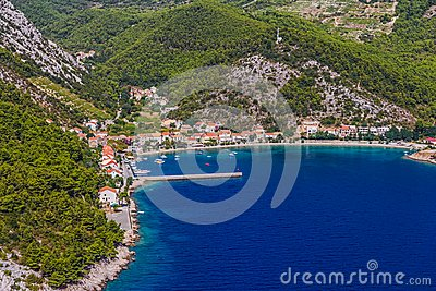Small fishing village, Trstenik