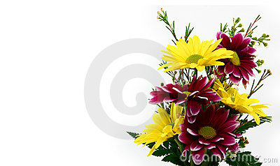 Small Flower Bouquet Close Up