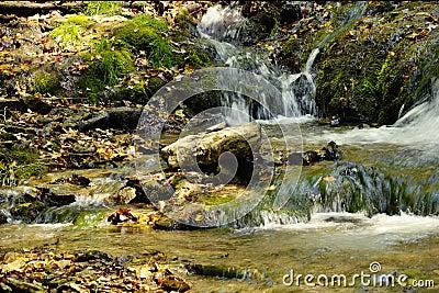 Small Foaming Falls