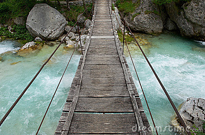 Small foot bridge