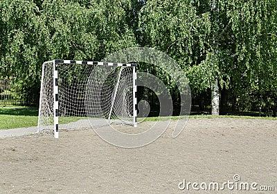 Small football gate