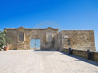 The small fort in oldtown of Bari. Apulia.