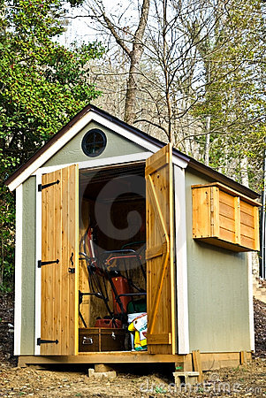 Small Garden Shed/Vertical