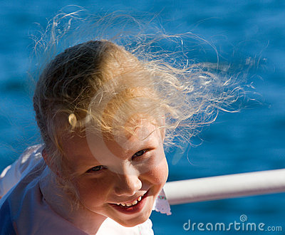 Small girl portrait