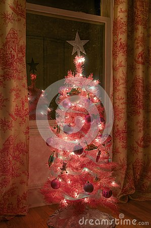 Small girls Christmas Tree