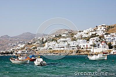 Small Greek town