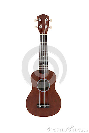 Small Guitar Ukulele Direct View Royalty Free Stock