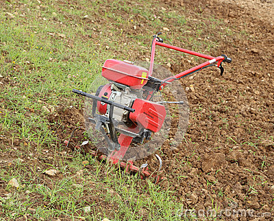 Small Hand Tractor Royalty Free Stock Photo Image 35364685