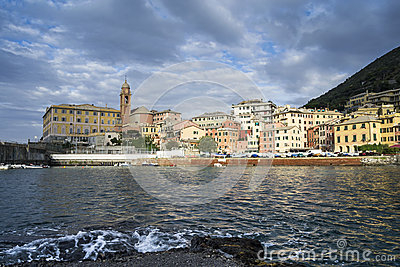 Small harbor of Nervi