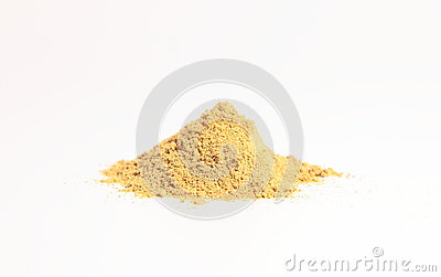 Small heap of spices, the Coriander powder