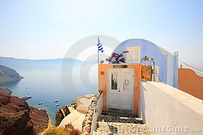 Small house with caldera and sea views
