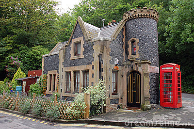 Small House In England Royalty Free Stock Photo Image