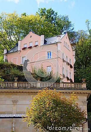 Small house in Karlsbad (Karlovy Vary)