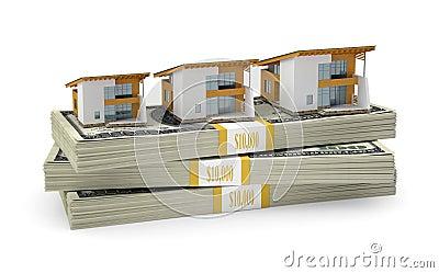 Pequenas casas estão no bloco dos dólares