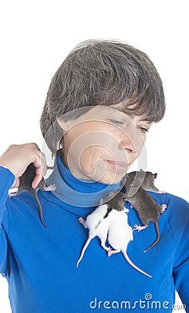 Small infant rats