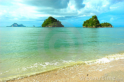 Small Island, Krabi, Thailand
