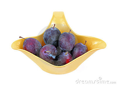 Small Italian Prune Plums
