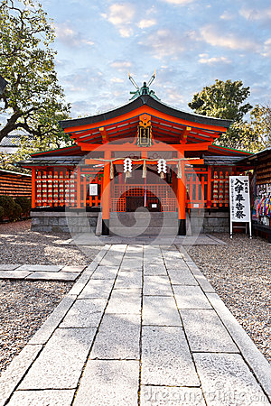 Small japanese Shrine