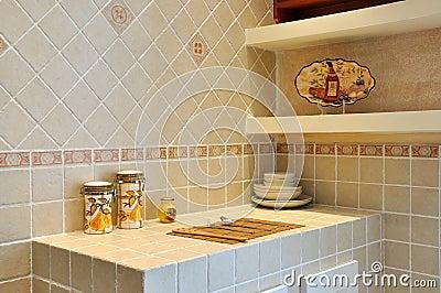 Small kitchen platform