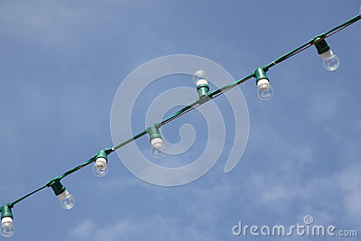 Small lamp rope for event