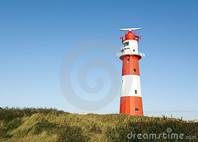 Small lighthouse at Borkum