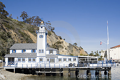 Small Lighthouse - Catalina Island