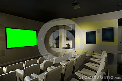 Small Luxurious Theater