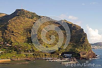 Small marina on Madeira.