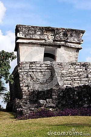 Small Maya Building at Tulum