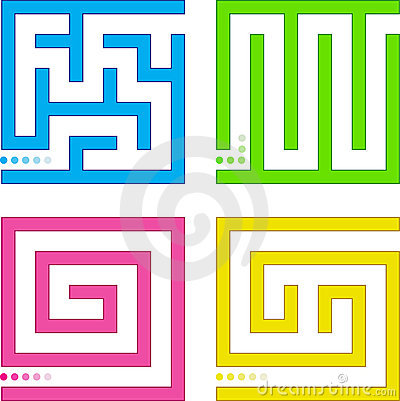 Small mazes