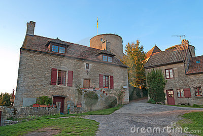Small medieval tower, France