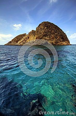 Small Mediterranean island