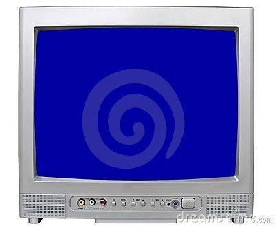 Small Modern Televisor Royalty Free Stock Images - Image: 1550779