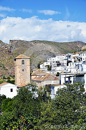 Small Moorish village in La Alpujarra