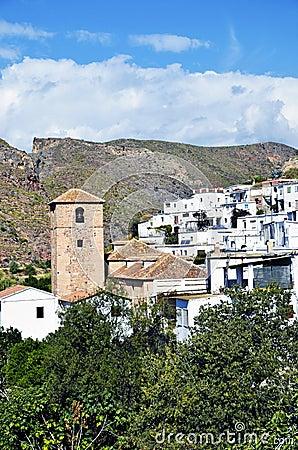 Small Moorish village in La Alpujarra