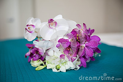 Small Orchid Bouquet