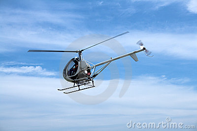 Small passenger helicopter