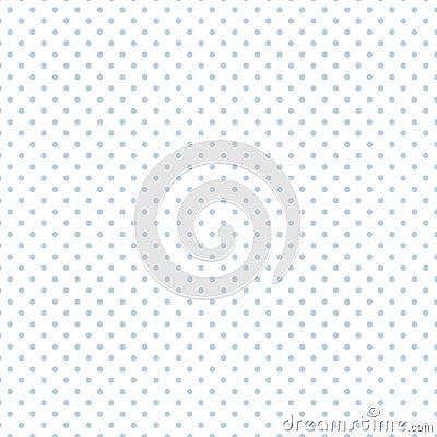 Free Small Pastel Blue Polka Dots On White, Seamless Stock Photos - 5659203