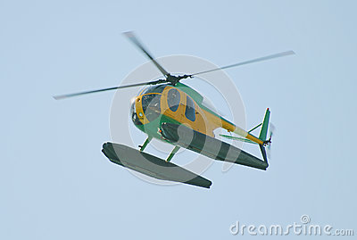 Small patrol helicopter