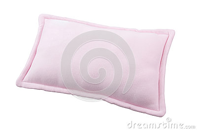 Small pink pillow